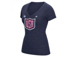 Dámské Tričko Team USA Tri-Blend Světový Pohár 2016