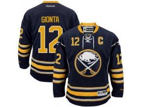Dres Brian Gionta #12 Buffalo Sabres Premier Jersey Home