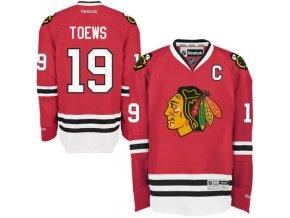 Dres Jonathan Toews #19 Chicago Blackhawks Premier Jersey Home