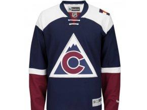 Dres Colorado Avalanche Premier Jersey Third - tmavě modrá