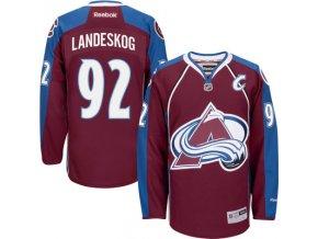 Dres Gabriel Landeskog #92 Colorado Avalanche Premier Jersey Home