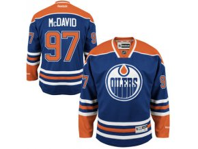 Dres Connor McDavid #97 Edmonton Oilers Premier Jersey Home