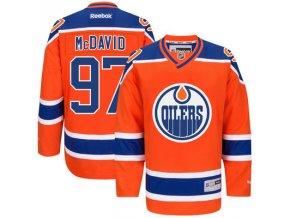 Dres Connor McDavid #97 Edmonton Oilers Premier Jersey Third