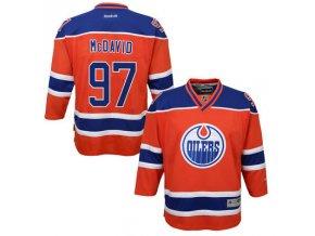 Dres Connor McDavid #97 Edmonton Oilers Premier Jersey Third dětský