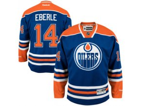 Dres Jordan Eberle #14 Edmonton Oilers Premier Jersey Home