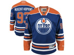 Dres Ryan Nugent-Hopkins #93 Edmonton Oilers Premier Jersey Home