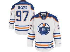 Dres Connor McDavid #97 Edmonton Oilers Premier Jersey Away