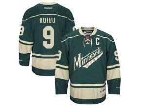 Dres Mikko Koivu #9 Minnesota Wild Premier Jersey Third