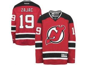 Dres Travis Zajac #19 New Jersey Devils Premier Jersey Home