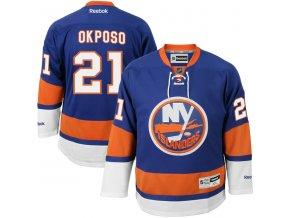 Dres Kyle Okposo #21 New York Islanders Premier Jersey Home