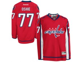Dres TJ Oshie #77 Washington Capitals Premier Jersey Home