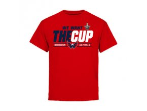 Dětské Tričko Washington Capitals 2016 Stanley Cup Playoffs We Want The Cup