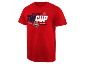 Tričko Florida Panthers 2016 Stanley Cup Playoffs We Want The Cup