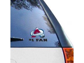 Samolepka Colorado Avalanche #1 Fan