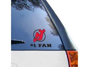 Samolepka New Jersey Devils #1 Fan