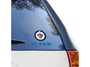 Samolepka Winnipeg Jets #1 Fan