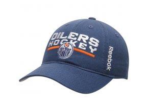 Kšiltovka Edmonton Oilers Center Ice Locker Room Slouch