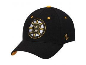 Kšiltovka Boston Bruins Zephyr Breakaway Flex černá