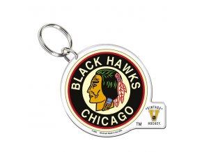Přívěšek na klíče Chicago Blackhawks Wincraft Vintage