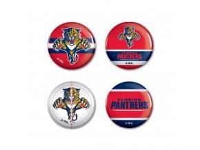 Mini odznak Florida Panthers