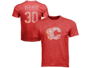 Tričko #30 Mike Vernon Calgary Flames Legenda NHL