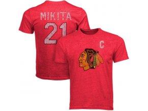 Tričko #21 Stan Mikita Chicago Blackhawks Legenda NHL