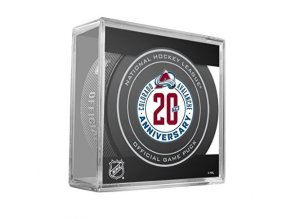 Puk  Colorado Avalanche 20th Anniversary