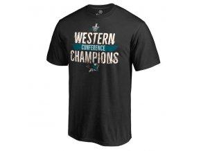 Tričko San Jose Sharks 2016 Western Conference Champions Breakaway