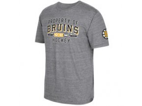 Tričko Boston Bruins CCM Property Block Tri-Blend