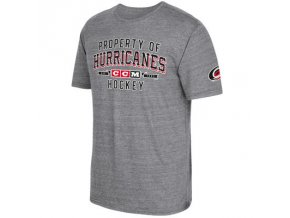 Tričko Carolina Hurricanes CCM Property Block Tri-Blend