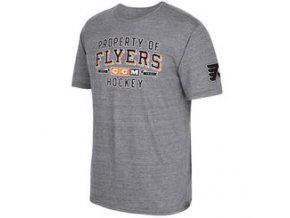 Tričko Philadelphia Flyers CCM Property Block Tri-Blend