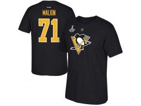 Tričko Pittsburgh Penguins 2016 Stanley Cup Champions Evgeni Malkin
