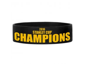 Náramek Pittsburgh Penguins 2016 Stanley Cup Champions Bulky
