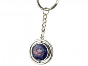 Přívěšek na klíče Columbus Blue Jackets Puck Spinning Ring