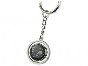 Přívěšek na klíče Philadelphia Flyers Puck Spinning Ring