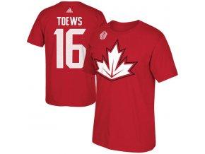 Tričko #16 Jonathan Toews Team Canada Player Světový pohár 2016