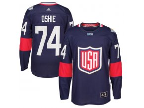 Dres #74 T. J. Oshie Team USA Světový pohár 2016