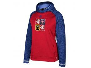 Dámská Mikina Team Czech Republic Pullover Hoodie Světový pohár 2016