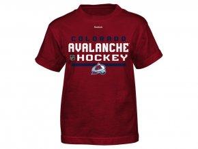 Dětské tričko Colorado Avalanche Locker Room 15