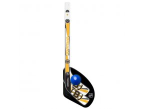Plastiková minihokejka Boston Bruins Sher-Wood One on one set