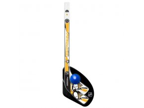 Plastiková minihokejka Pittsburgh Penguins Sher-Wood One on one set