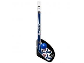 Plastiková minihokejka Winnipeg Jets Sher-Wood One on one set