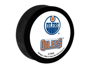 Penový puk Edmonton Oilers Sher-Wood