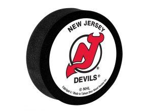 Pěnový puk New Jersey Devils Sher-Wood