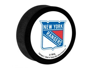 Penový puk New York Rangers Sher-Wood