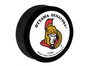 Pěnový puk Ottawa Senators Sher-Wood
