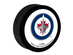 Pěnový puk Winnipeg Jets Sher-Wood