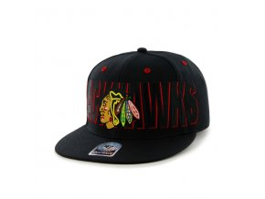 Kšiltovka Chicago Blackhawks Double D Battery Snapback