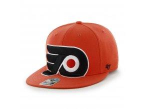 Kšiltovka Philadelphia Flyers Jumbo Logo Snapback