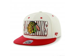 Kšiltovka Chicago Blackhawks The Double Snapback